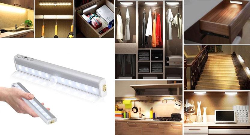 LED Schrankbeleuchtung mit Bewegungsmelder