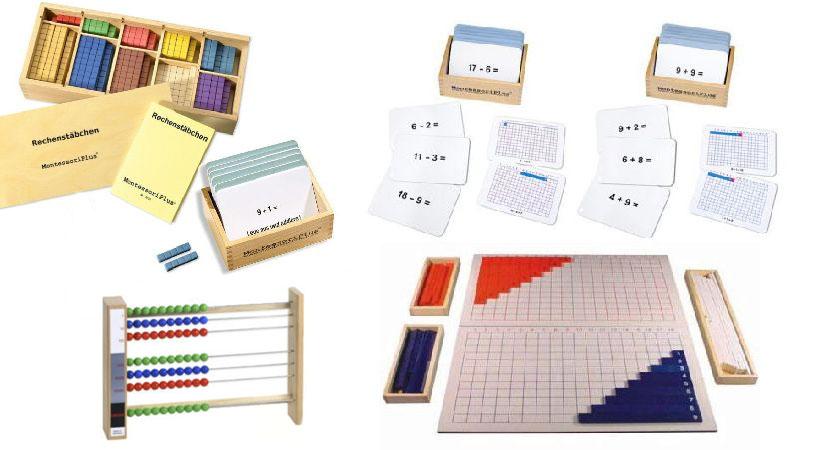 Montessori Material Mathematik