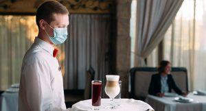 Hygienemasken für Restaurants