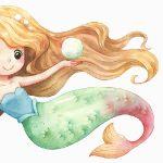 Meerjungfrau Flosse für Mädchen