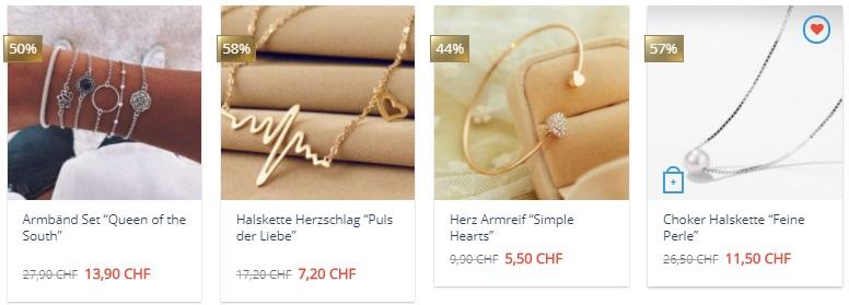 Umwerfender Modeschmuck beim Schweizer Shop dabruchi.ch